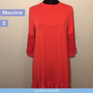 Perfect for Holidays Small Maurine ruffle dress